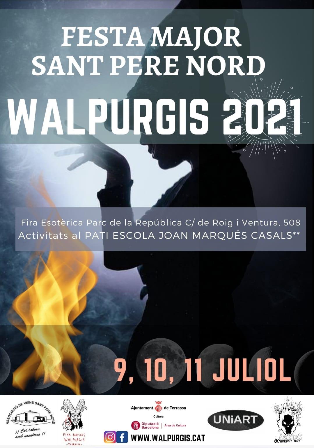 Walpurgis 2021 Sant Pere Nord